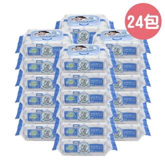 Baan 貝恩 嬰兒EDI超純水保養濕紙巾(濕巾)80抽-24入【悅兒園婦幼生活館】