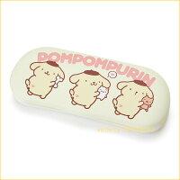 布丁狗周邊商品推薦到asdfkitty可愛家☆布丁狗小倉鼠硬殼眼鏡盒-日本正版商品