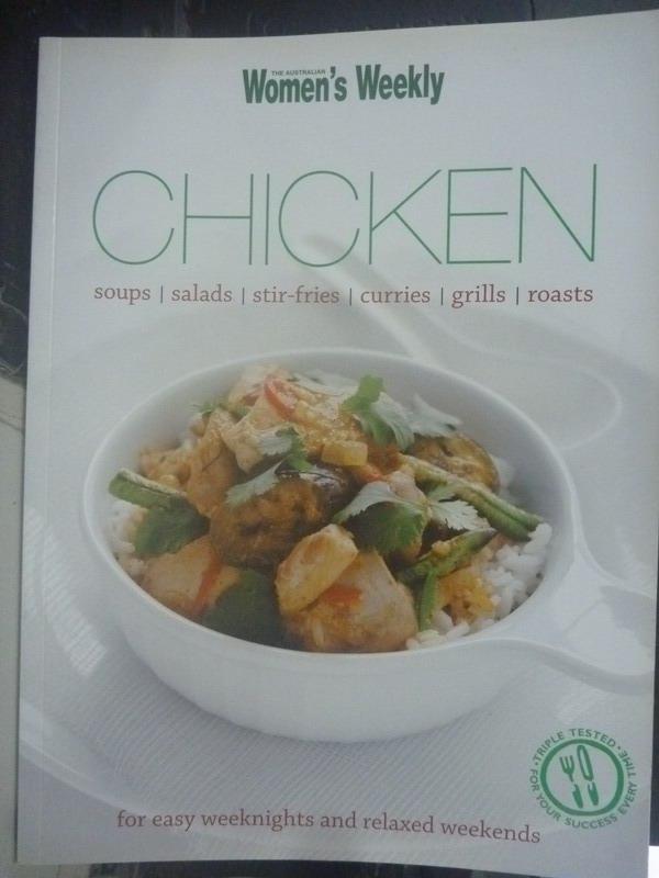 【書寶二手書T9/餐飲_ZIM】Chicken_The Australian Women's Weekly