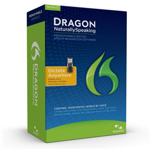 Nuance Communications Dragon Naturally Speaking Premium Mobile 12.0