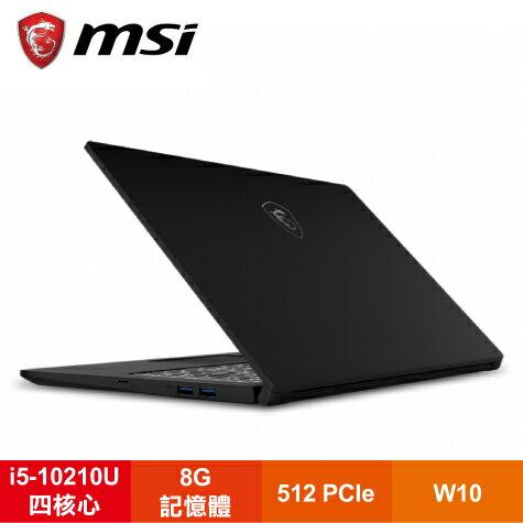 【福利品】MSI Modern 15 A10M-058TW 微星創作者輕薄精品筆電/i5-10210U/UMA/8G/512 PCIe/15.6吋FHD IPS/W10/白色背光鍵盤/含包包及滑鼠