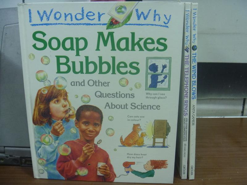 【書寶 書T5/少年童書_PBP】I Wonder Why-Soap Makes Bubb