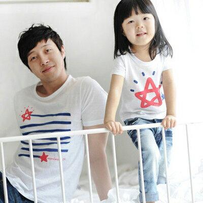 T恤 情侶裝 客製化 MIT台灣製純棉短T 班服◆快速出貨◆獨家配對情侶裝.星星的歸宿【Y0250】可單買.艾咪E舖 2