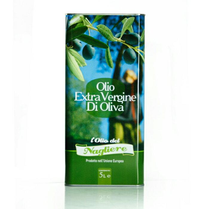 【Galantino】頂級初榨橄欖油 - 5公升家庭號 Extra Virgin Olive Oli 5L