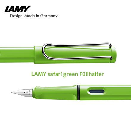 限量商品 LAMY safari green Fullhalter 狩獵者 13 蘋果綠 鋼筆 /支