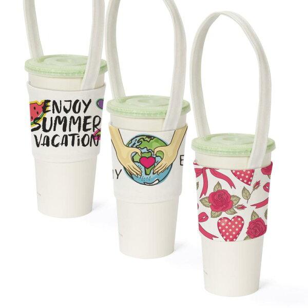 S1全球批發網:【客製化】寬版帆胚布飲料杯提袋(全版全彩數位直噴)S1-01088WAA