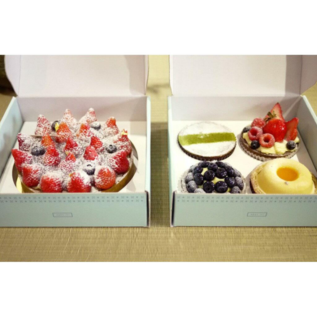 【嚴選SHOP】晴空塔6吋塔盒 台灣製 披薩盒 派盒 外帶盒 烘焙蛋糕盒 紙盒 禮品包裝盒 6吋盒 小塔乳酪【C088】