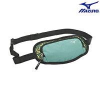 慢跑_路跑周邊商品推薦到33TM610235(綠) 運動用(加大) 腰包 【美津濃MIZUNO】