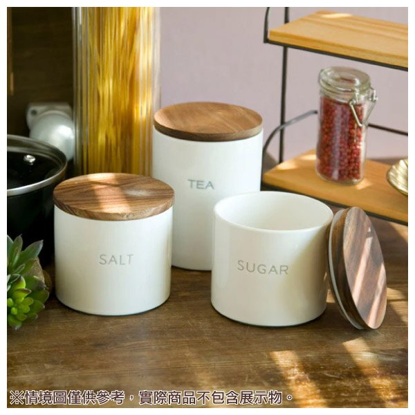 瓷製調味料罐 SALT 350ml NITORI宜得利家居 6