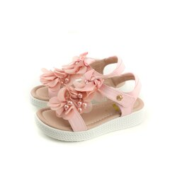 HITO BELLE 涼鞋 花朵 童鞋 粉紅色 大童 9922 no029