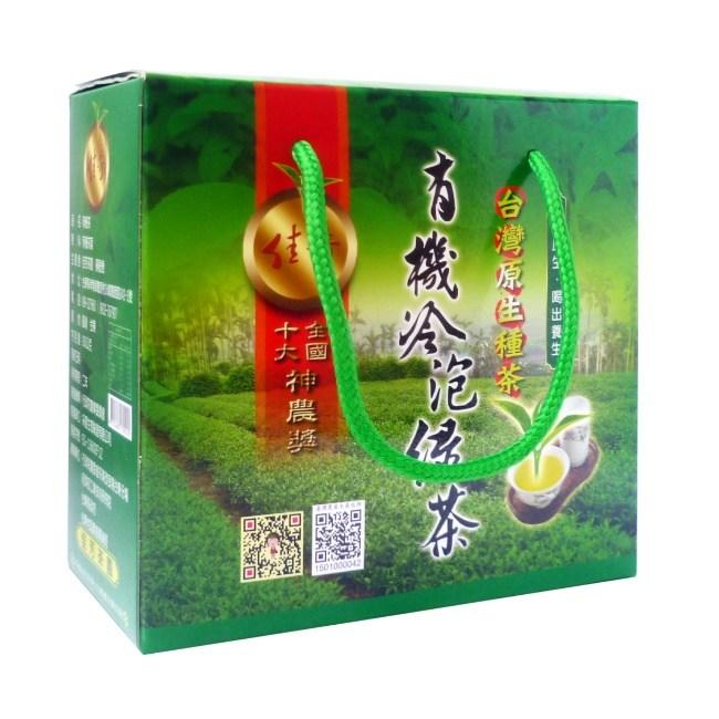 佳芳茶園~有機冷泡綠茶300公克/盒~特惠中~