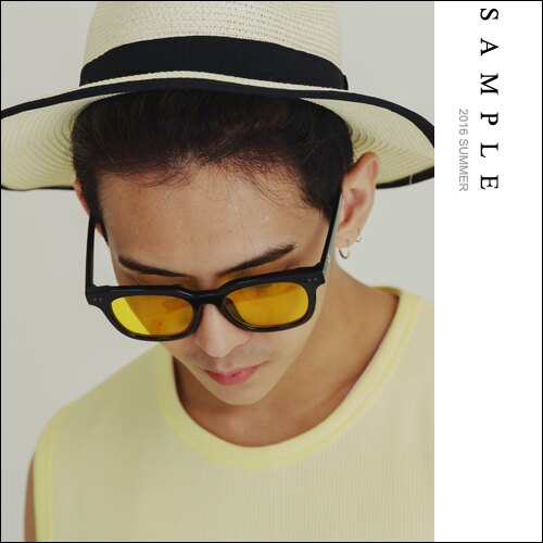 墨鏡 GD款 霓紅燈色膠框太陽眼鏡【AG16137】- SAMPLE