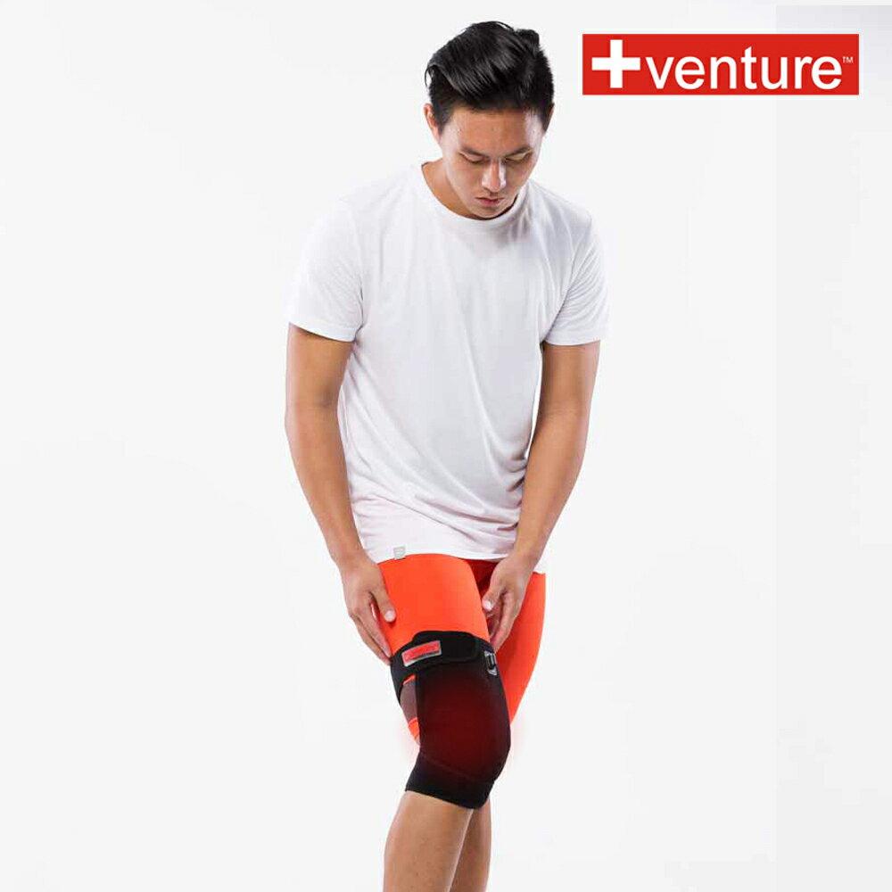 美國+VENTURE 速配鼎 SH-35 鼎膝部 鋰電 可攜式 醫療用熱敷墊 加贈 專用鋰電池與車充