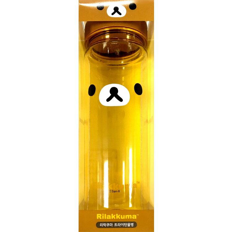 韓國製 拉拉熊 懶懶熊 塑膠水壺 水瓶 直飲式冷水壺 運動水壺 隨身瓶 500ml 韓國進口正版 464155