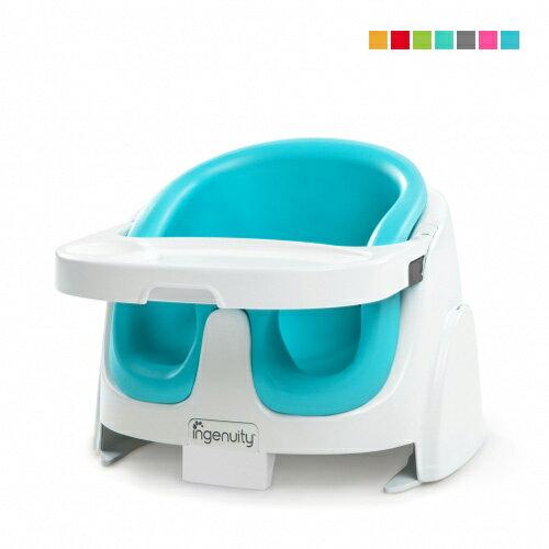 【奇買親子購物網】KidsII2合1寶寶椅(藍色桃紅色檸檬綠灰色紅色桔色翡翠綠)