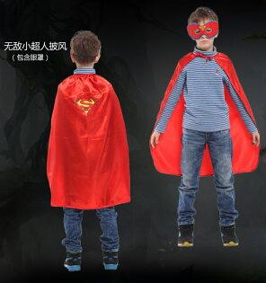 天姿舞蹈戲劇表演服飾特殊造型館:GTH-1743無敵小超人眼罩披風組化裝舞會表演造型派對道具配件