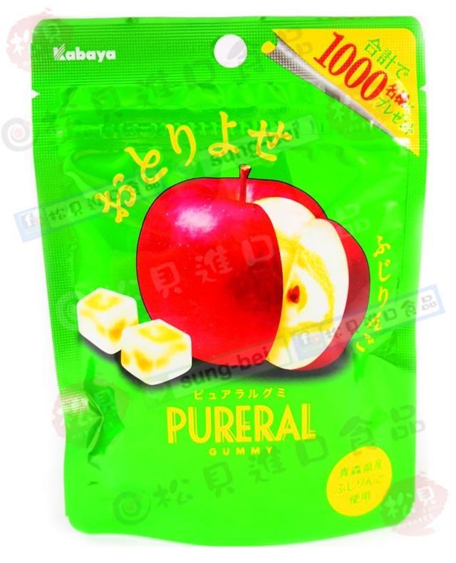 卡巴蘋果果實QQ糖45g【4901550267980】