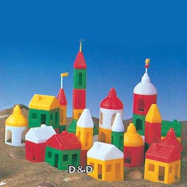 【 WORLD ZEBRA 】小城堡積木