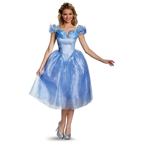 Cinderella Movie Deluxe Adult Costume 0
