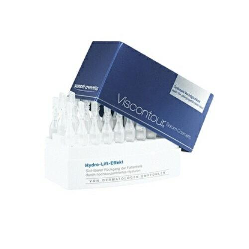 【德潮購】德國Viscontour維詩朵高濃度玻尿酸水潤抗皺精華30支一盒