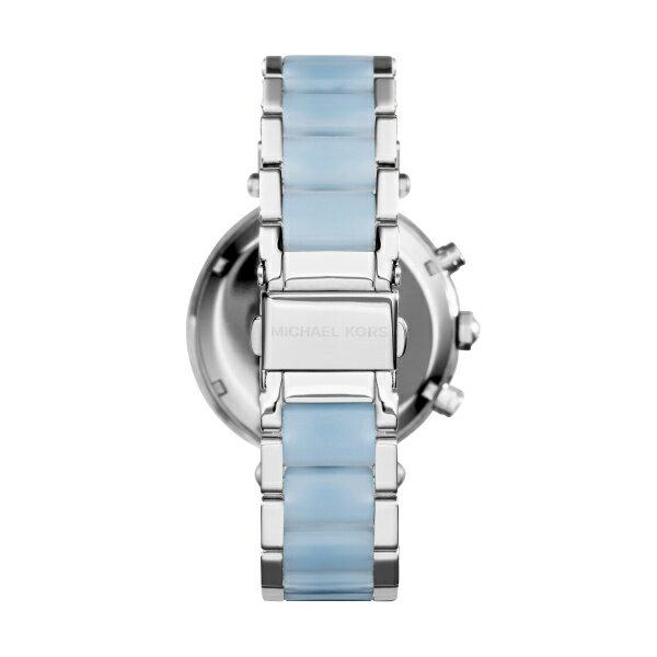美國Outlet 正品代購 Michael Kors MK 三環 淺藍精鋼 滿鑽 手錶 腕錶 MK6138 3