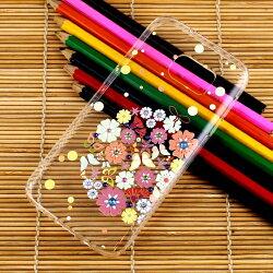 【奧地利水鑽】Samsung Galaxy S7 (5.1吋) 花系列保護軟套