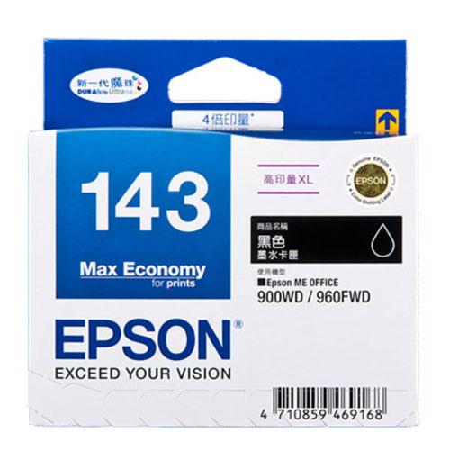 【EPSON 墨水匣】T143150 黑色原廠高印量XL墨水匣