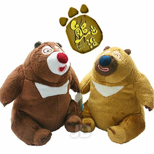 【熊出沒】18cm 絨毛吊飾-熊大+熊二 1-02D04018+2-02D04018