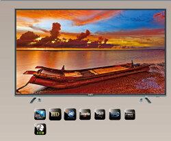 SAMPO 聲寶 55吋 超質美 LED液晶電視 炫彩先驅影像 低藍光 EM-55AT17D