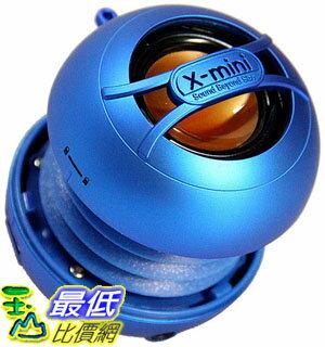 [106美國直購] X-Mini UNO XAM14-BL 可攜式音箱 Portable Capsule Speaker, Mono, Blue