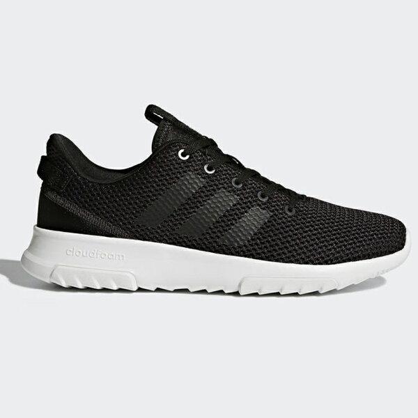 AdidasNeoCLOUDFOAMRACERTR男鞋慢跑休閒輕量透氣黑【運動世界】BC0061