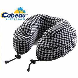 Cabeau 旅行用記憶頸枕/U型枕/旅行/長途/坐車旅遊枕/飛機靠枕/旅行枕/旅行頸枕 枕頭套可拆洗 千鳥格