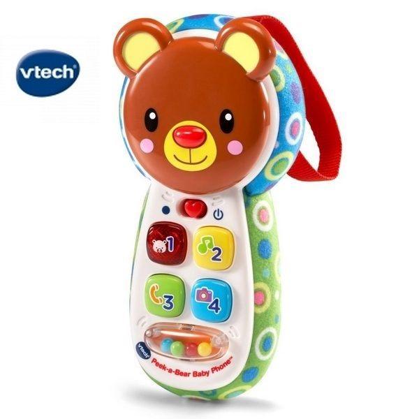 Vtech 躲貓貓寶寶手機【六甲媽咪】