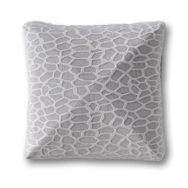 Lourdes日式溫熱揉捏動物紋按摩抱枕(灰色)148gb