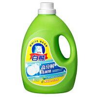 世界地球日,環保愛地球到白熊高分解洗碗精4kg【愛買】