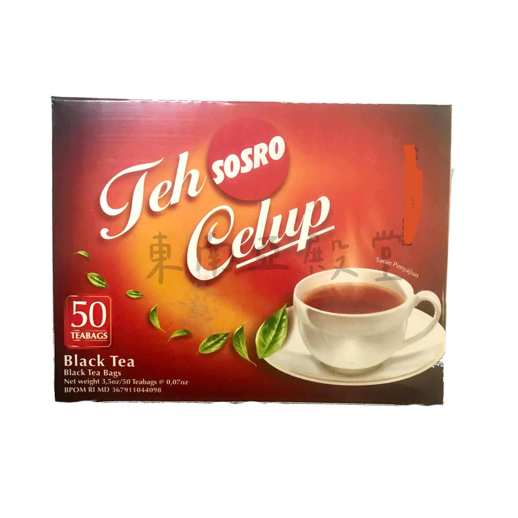 [東南亞殿堂]印尼-紅茶包TEH CELUP-2g*50包