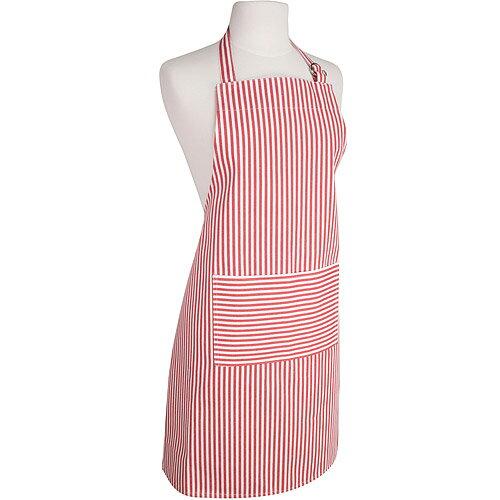 《NOW》平口單袋圍裙(水手紅)