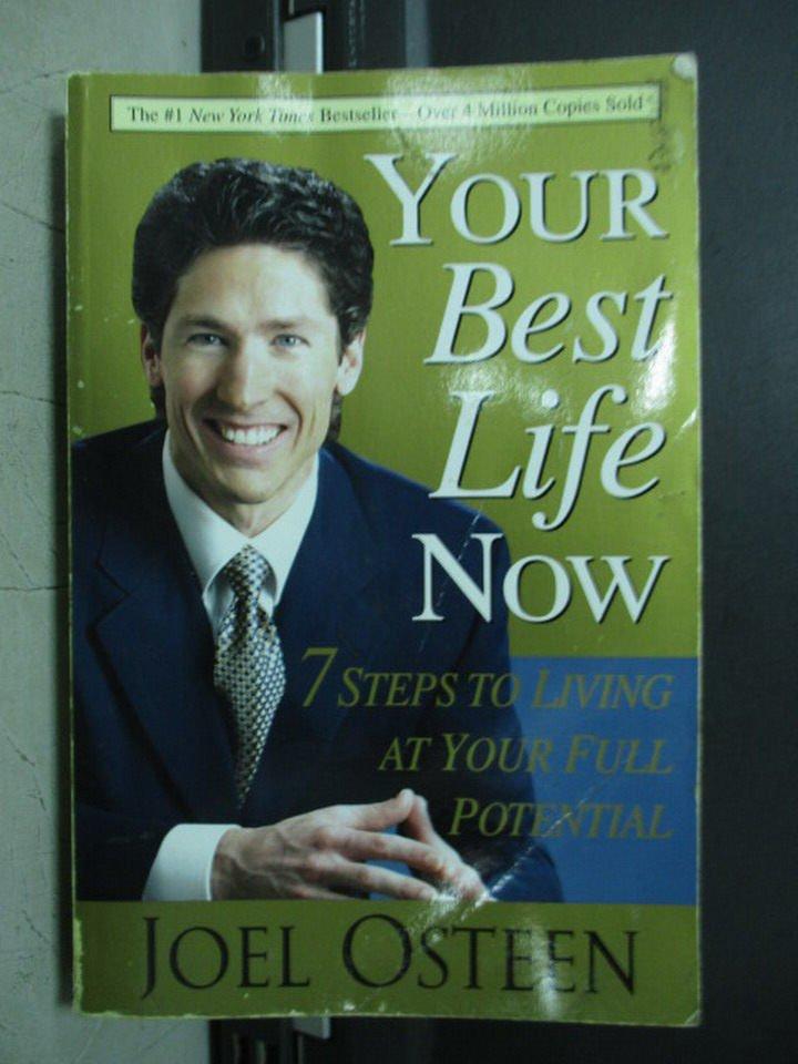 【書寶二手書T2/原文小說_LAQ】Your Best Life Now_2004