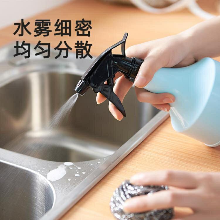噴水壺 酒精噴壺消毒專用塑料清潔分裝瓶大容量按壓式消毒液噴霧瓶子空瓶 WJ 紓困振興 2