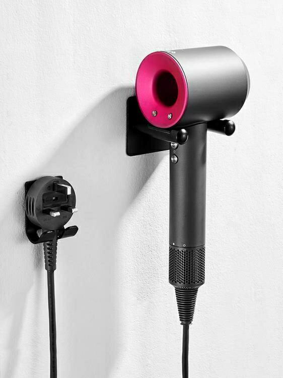 吹風筒置物架 吹風機支架免打孔衛生間浴室置物架壁掛電吹風筒收納掛架適用戴森 WJ 七夕節禮物