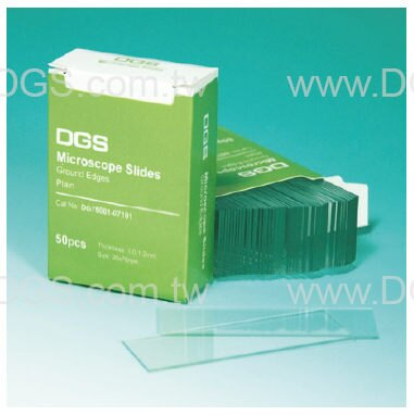 《DGS》光面載玻片 Microscope Slide, Opticlear