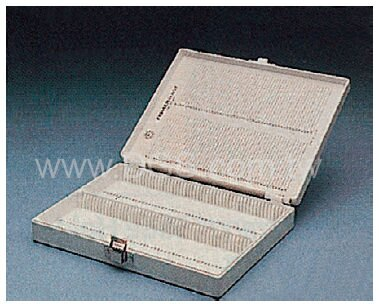 《台製》塑膠玻片盒 Slide Box