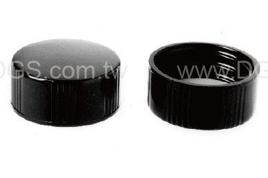 《KIMBLE & CHASE》黑色螺旋蓋 Closure, Screw Thread, PTFE-Faced Rubber /14B Rubber
