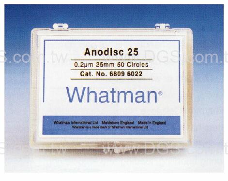~Whatman ~氧化鋁濾膜 Anopore Inorganic Membranes