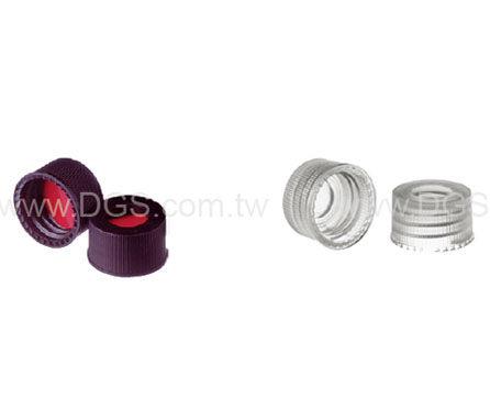 10-425 中孔螺蓋及墊片 Assembled Cap and Septa for 10-425 Wide Opening Vials
