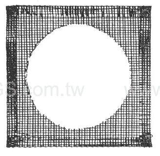 陶瓷纖維網 經濟型Ceramics Centered Iron wire Gauze