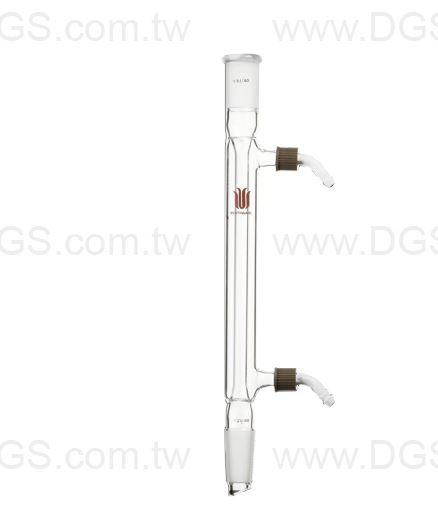 直型冷凝管 附螺芽接管 Condenser, Liebig