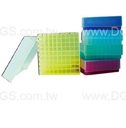 ~台製~ 微量離心管盒81孔 81~Well Microtube Storage Boxe