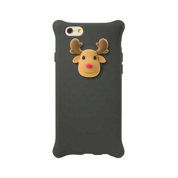 Bone iPhone66S四角防撞泡泡保護套手機殼-麋鹿