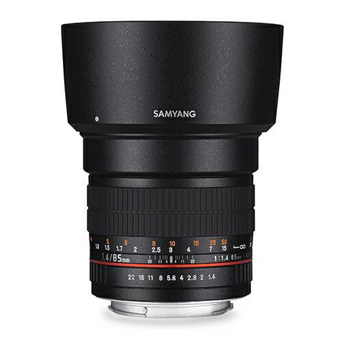 ◎相機專家◎SAMYANG85mmF1.4AEforCanonEF手動鏡正成公司貨保固一年